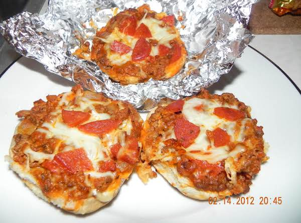 Nana's Pizza Burgers Recipe