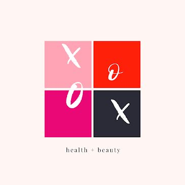 XO Health & Beauty - Logo Template
