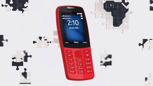 The Nokia 210.