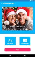 Screenshot of Touchnote Christmas Edition