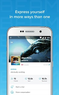 Beam Messenger: Real Time Text- screenshot thumbnail