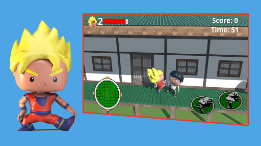 Télécharger Code Triche Super Saiyan Action - Battle Guerrero MOD APK 1
