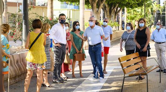 El alcalde de Almería chequea San Félix para conocer sus necesidades