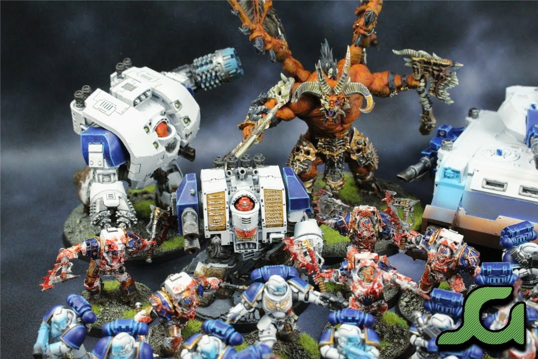 World Eaters Vehicles and Skarbrand