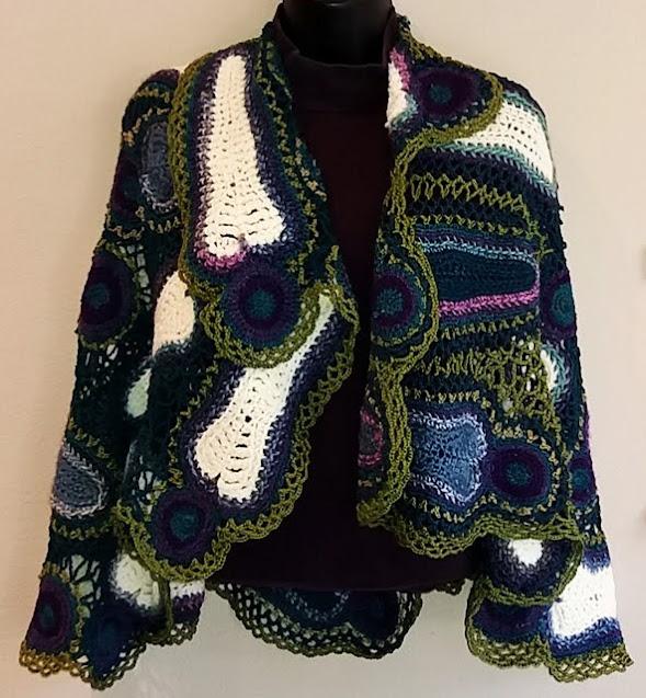 """Shroud of NO Health Insurance"" Crochet by Kacey Cowdery"