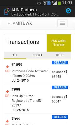 AUN Business Partner - screenshot