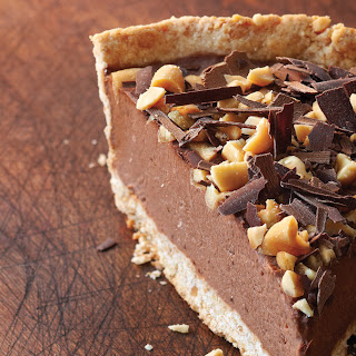 Chocolate Banana Freezer Pie.
