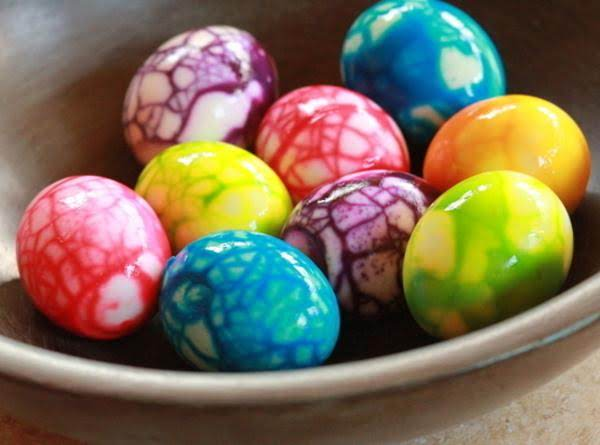 Colorful Eggs For Easter !