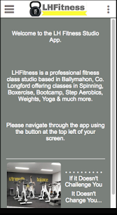 LH Fitness - náhled