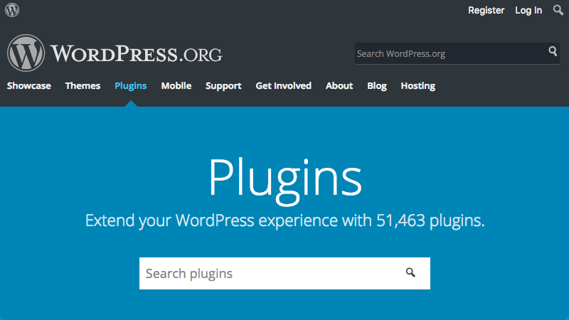 Le WordPress Plugin Repository a plus de 50 000 plugins.