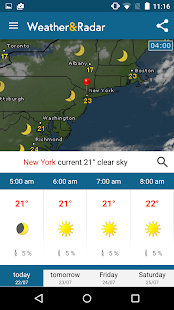 Weather & Radar Pro Ad-Free Screenshot