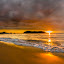 Golden Sunset by Mann Renzef - Landscapes Sunsets & Sunrises ( sunset, landscape )