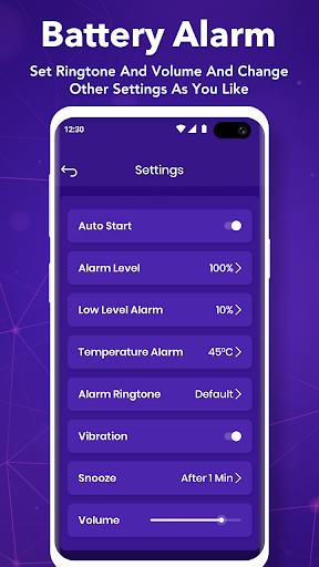 Full Battery Charge Alarm : Battery Full Alert screenshot 2
