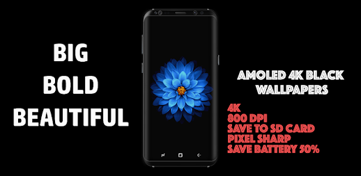 🔝 AMOLED 4K Black Wallpapers , Dark Backgrounds APK