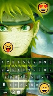 Boruto Uzumaki Keyboard Emoji - náhled