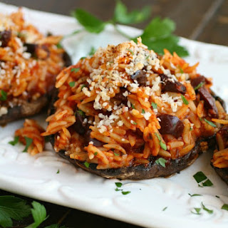 Stuffed Portobello Mushrooms Pasta Recipes