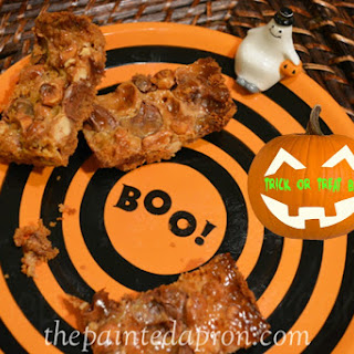 5 minute Trick or Treat Bars.