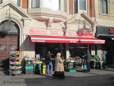 Hut Bazar on Whitechapel Road - Grocers in Shadwell, London