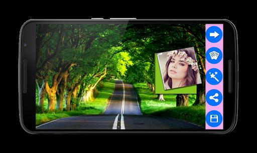 Wallpaper Photo Frames