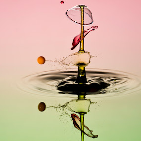 impact by Francois Loubser - Abstract Water Drops & Splashes