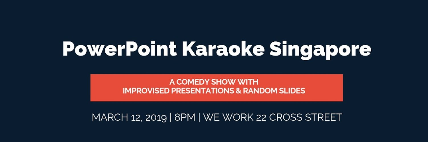 PowerPoint Karaoke Singapore by Improv.Asia