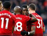 Pogba mène United vers la victoire face à Everton, Lukaku remplaçant au coup d'envoi