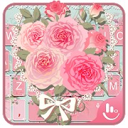 App Pink Flower Keyboard Theme APK for Windows Phone