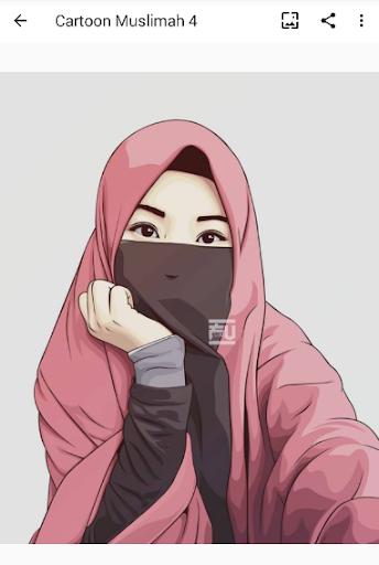 Cartoon Muslimah : Wallpaper and DP screenshot 3