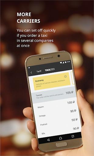Taxsee: taxi order 3.7.13 screenshots 1