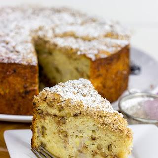 Banana Walnut Coffee Cake Recipe