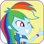 Live Wallpapers Rainbow Dash icon
