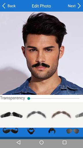 Men Mustache Beard Haircuts  screenshots 3