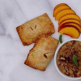 Peche a Trois' (Peach Hand Pies, Crisp, Unadulterated)