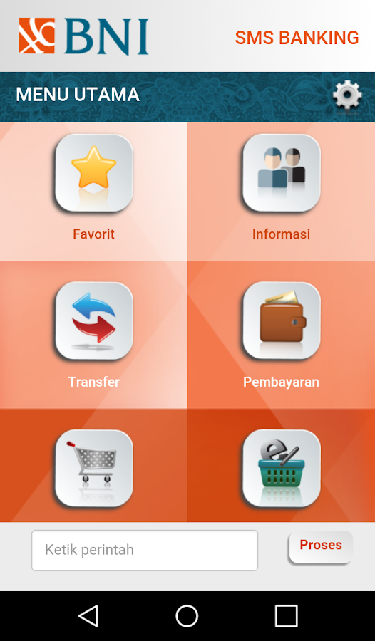 BNI SMS Banking - Android Apps on Google Play