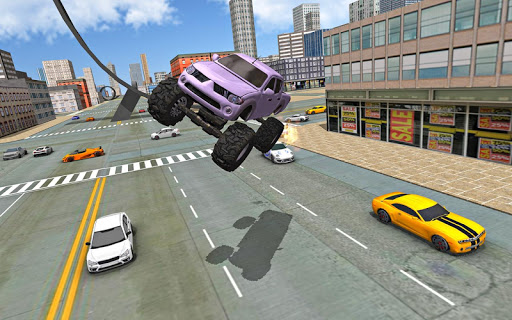 Monster Truck Stunts Driving Simulator  astuce 2