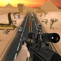 Traffic Sniper Shooter - Highway vehicles attack icon