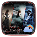 Gothic Halloween GO Weather Dynamic Backgrounds icon