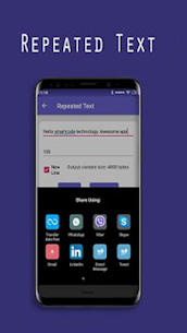 Text Repeater for WhatsApp, Instagram and Facebook 5