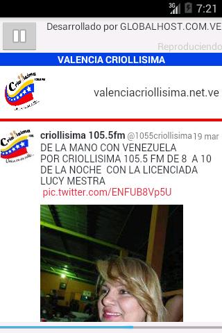 CRIOLLISIMA 105.5 FM