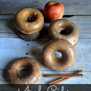 Baked Apple Cider Doughnuts