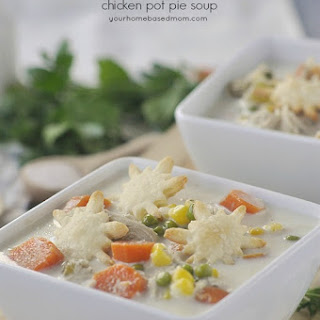 Slow Cooker Chicken Pot Pie Soup.
