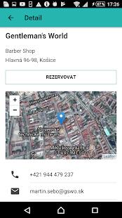 UnisBook - Rezervace - náhled
