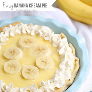 Easy Banana Cream Pie.