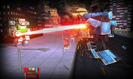 未来机器人犯罪3D战斗