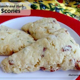 Tomato and Herb Scones Recipe