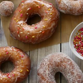 Orange-Fennel Cake Doughnuts Recipe