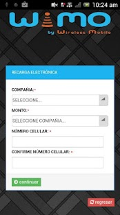 Download WiMO Recargas & Servicios For PC Windows and Mac apk screenshot 3
