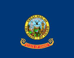 Mapa Idaho