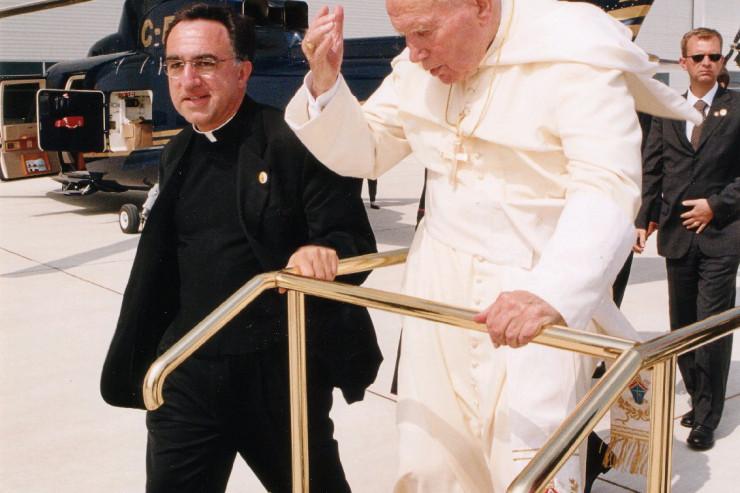TR John Paul II Farewell Airport WYD 2002 July 29, 2002