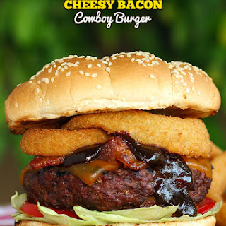 Cheesy Bacon Cowboy Burger
